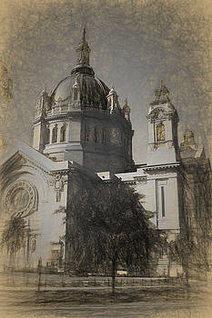 St Paul Cathedral Sketch by Tom Reynen