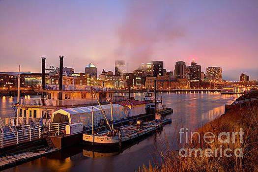 St Paul Minnesota Its a River Town by Wayne Moran