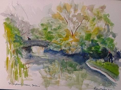 St. Stephen's Green by Ruth Mabee