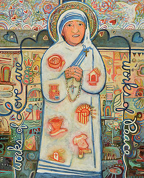 St. Teresa of Kolkata by Jen Norton