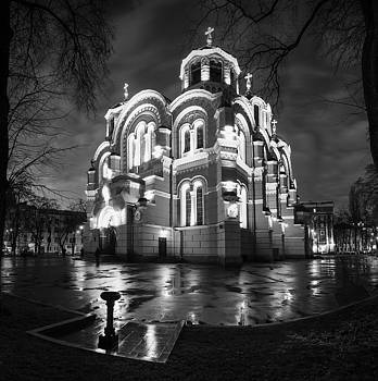 St Volodymyr's Cathedral in Kiev by Sergey Ryzhkov
