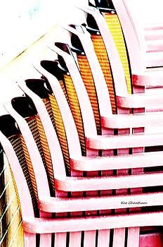 Kae Cheatham - Stacked Chairs Abstract
