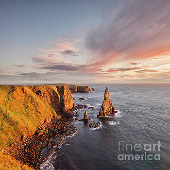 Stacks of Duncansby Sunrise by Colin and Linda McKie