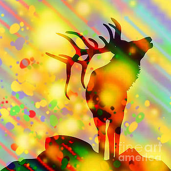 Stag by Vicky Hutton
