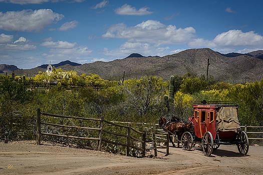 Stagecoach by Pat Scanlon
