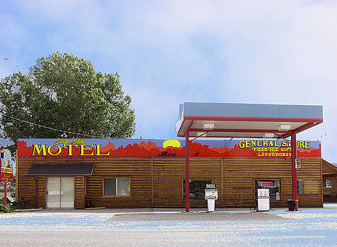 Stagestop Motel by Peter Pfeffer