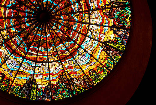 Jerry McElroy - Stained Glass Ceiling