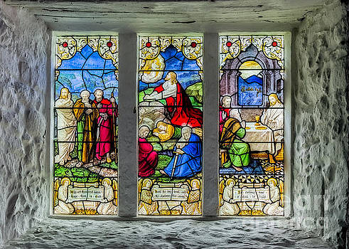 Adrian Evans - Stained Glass Triptych