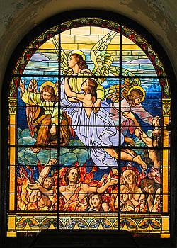 Stained Glass Window by Elizabeth Budd