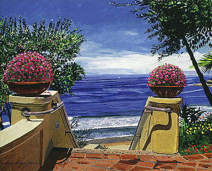 Stairway To The Blue Pacific by David Lloyd Glover