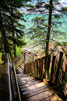 Stairways To Paradise by Nebojsa Novakovic