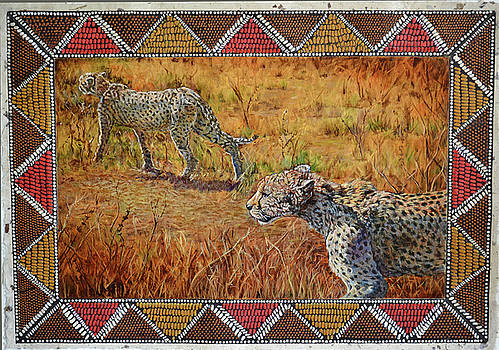 Stalking Cheetahs by Carol J  South