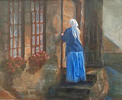 Standing at the Door by Ruth Mabee