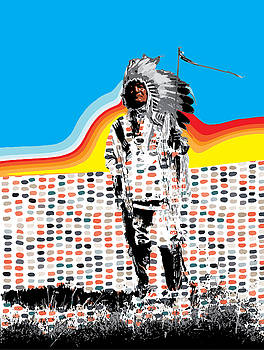 Standing Chief by Gary Grayson