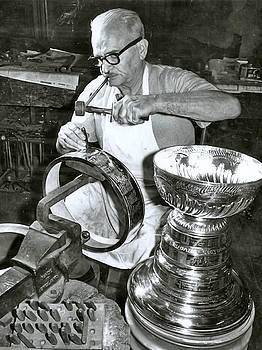 Stanley Cup Engraving by Paul Van Scott