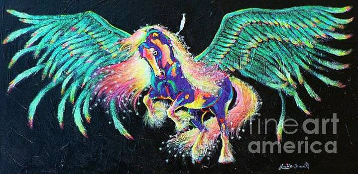 Star Feather Pony by Louise Green