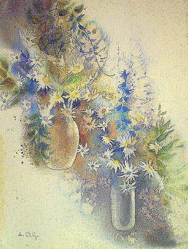 Star Flowers- ONE by June Conte Pryor