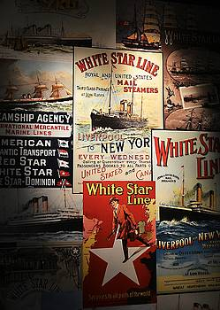 Star Line Posters by Peter McAuley