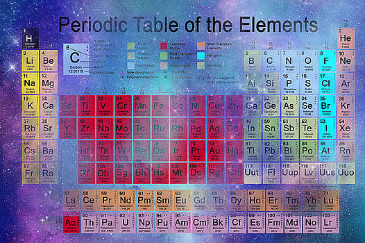 Stardust Periodic Table No.2 by Carol and Mike Werner