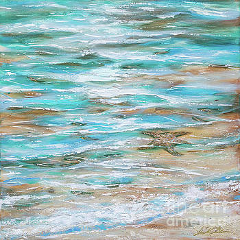 Starfish fishing by Linda Olsen