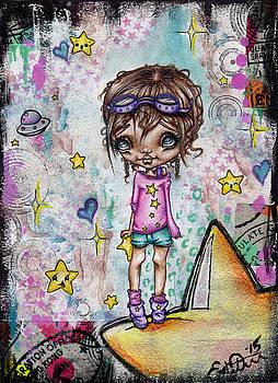Starla Jones the 3rd Intergalactic Star Jumper by Oddball Art Co by Lizzy Love