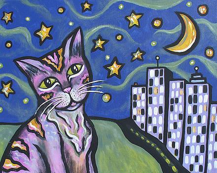 Starry Cat by Sarah Crumpler