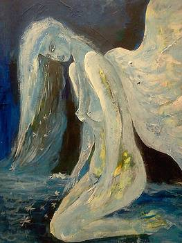 Starry Night Angel by Michaela Kraemer