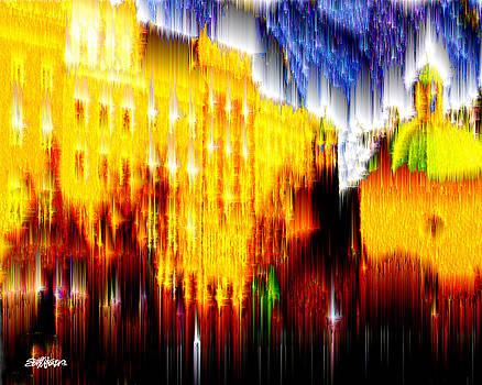 Starry Night in Prague by Seth Weaver