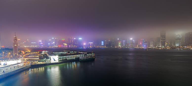 Stars Ferry Pier by Bun Lee