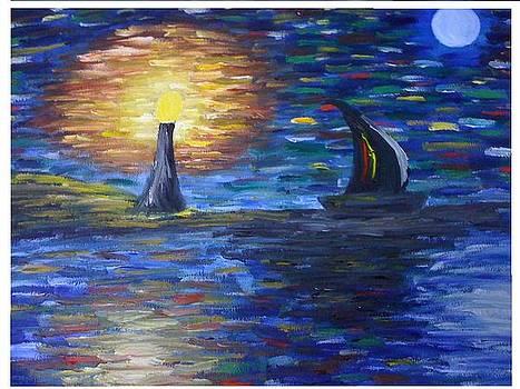 Stary Night by Aida Behani