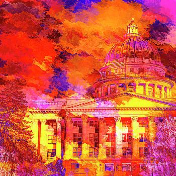 State Capitol of Utah by David Millenheft