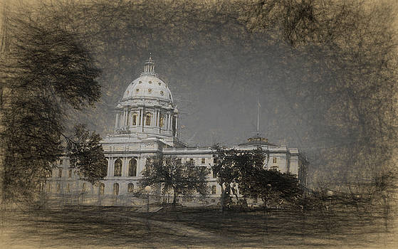 State Capitol Sketch by Tom Reynen