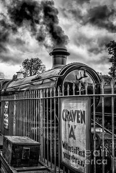 Adrian Evans - Station Sign