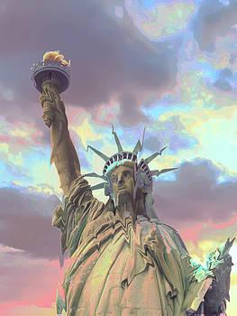 Statue of Liberty Meltdown by Marcia Socolik