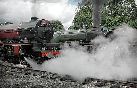 Steam Locomotive Drama by David Birchall