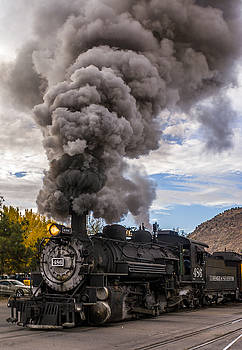 Steam Locomotive by Jerry Cahill