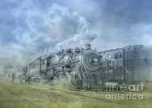 Steam Train Toned by Randy Steele