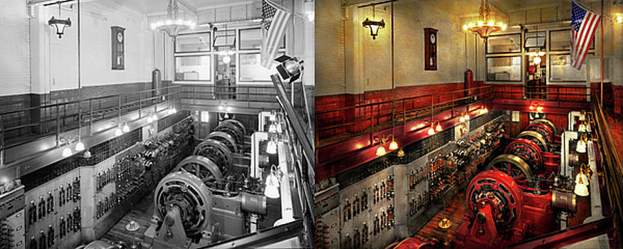 Steampunk - The Engine Room 1974 - Side by Side by Mike Savad
