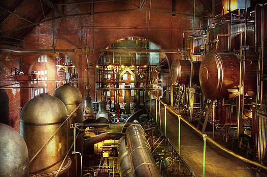 Steampunk - Think Tanks by Mike Savad