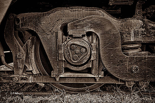 Christopher Holmes - Steel Wheel of Progess - Sepia