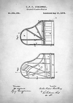 Steinway Grand Piano Patent by Taylan Apukovska