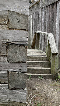 Steps and Corner by Larry Darnell