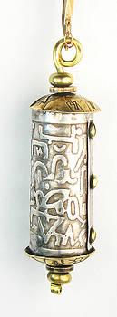 Sterling Silver Secret Message Capsule Pendant by Virginia Vivier