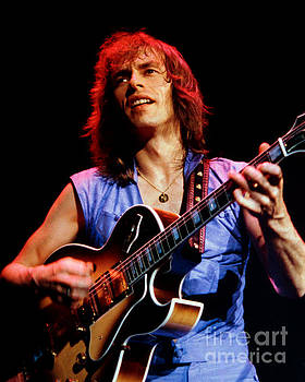 Steve Howe of Yes 1980 Drama Tour - Cow Palace  by Daniel Larsen