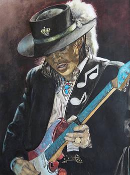 Stevie Ray Vaughan  by Lance Gebhardt