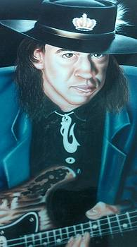 Stevie Ray Vaughn by Darren Robinson