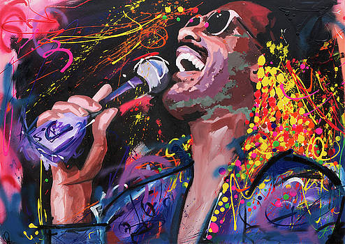 Stevie Wonder by Richard Day