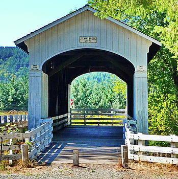Stewart  Mosbey Creek Covered Bridge by Ansel Price