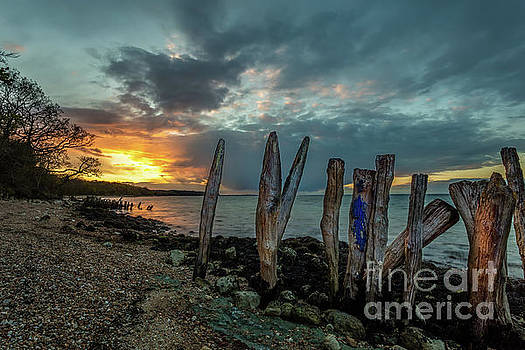 Sticks and Stones sunset by English Landscapes