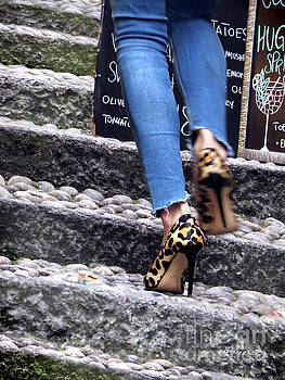 Stiletto,Steps and Stones by Jennie Breeze